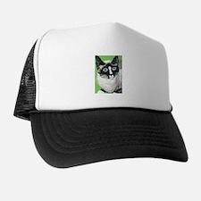 Cute Snowshoe cat Trucker Hat