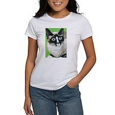 Cute Snowshoe cat Tee