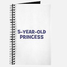5-Year-Old Princess Journal