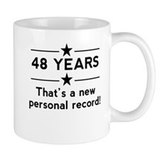 48 Years New Personal Record Mugs