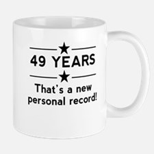49 Years New Personal Record Mugs