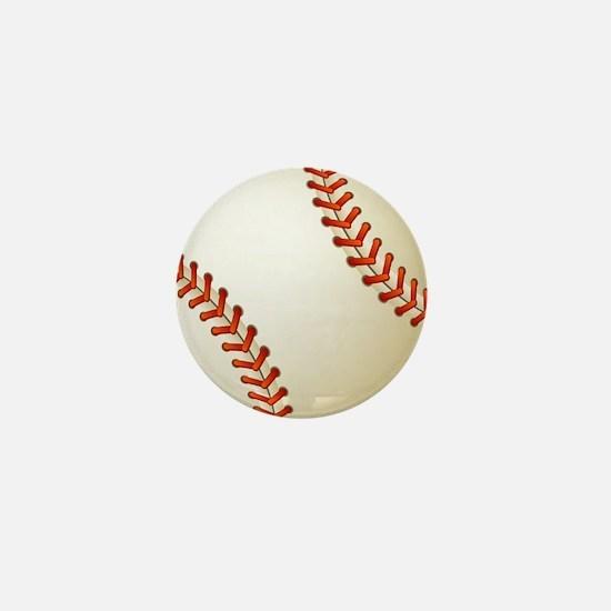 Baseball Ball Mini Button
