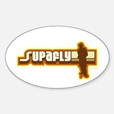 Supafly Vintage Oval Decal
