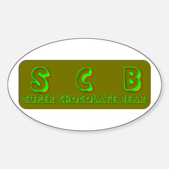 Oval Decal