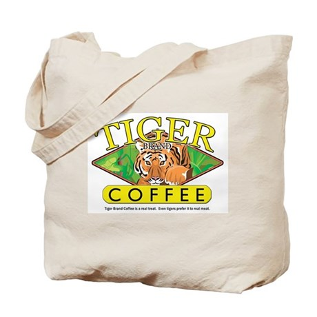 Tiger Brand Coffee Tote Bag