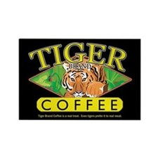 Tiger Brand Coffee Rectangle Magnet