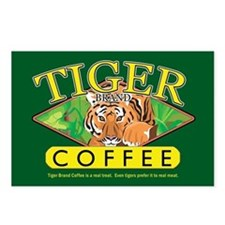 Tiger Brand Coffee Postcards (Package of 8)