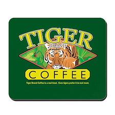 Tiger Brand Coffee Mousepad