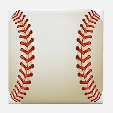 Baseball Ball Tile Coaster