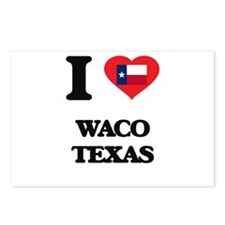 I love Waco Texas Postcards (Package of 8)