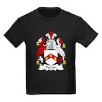 Perton Family Crest Kids Dark T-Shirt