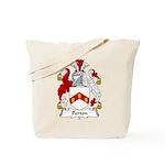 Perton Family Crest Tote Bag