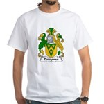 Perryman Family Crest White T-Shirt