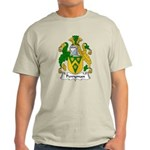 Perryman Family Crest Light T-Shirt