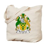 Perryman Family Crest Tote Bag