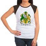 Perryman Family Crest Women's Cap Sleeve T-Shirt