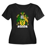 Perryman Family Crest Women's Plus Size Scoop Neck