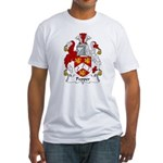Pepper Family Crest Fitted T-Shirt