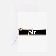 Sir Greeting Cards (Pk of 20)