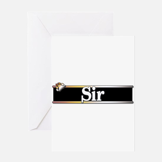 Sir Greeting Card