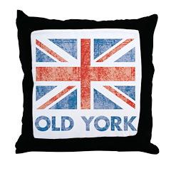 Old York Throw Pillow