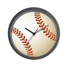 Baseball Ball Wall Clock