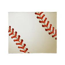 Baseball Ball Throw Blanket