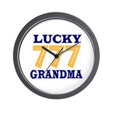Lucky Grandma Wall Clock