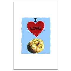 I LOVE DONUTS Posters