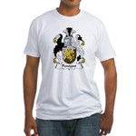 Pennant Family Crest Fitted T-Shirt