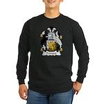 Pennant Family Crest Long Sleeve Dark T-Shirt