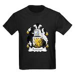 Pennant Family Crest Kids Dark T-Shirt
