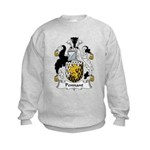 Pennant Family Crest Kids Sweatshirt