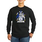 Penkeith Family Crest Long Sleeve Dark T-Shirt
