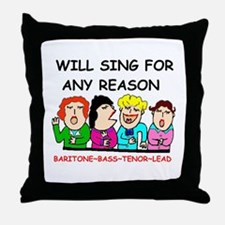 GALS QUARTET Throw Pillow