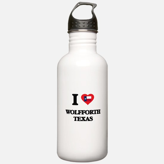 I love Wolfforth Texas Water Bottle