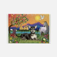 Fantasy Chihuahua (BT) Rectangle Magnet