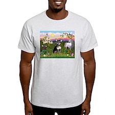 Castle & Chihuahua (BT) T-Shirt