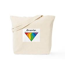 Jacquelyn: Proud Lesbian Tote Bag