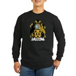 Pelton Family Crest Long Sleeve Dark T-Shirt