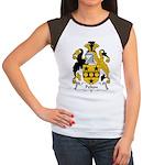 Pelton Family Crest Women's Cap Sleeve T-Shirt