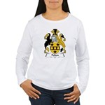 Pelton Family Crest Women's Long Sleeve T-Shirt
