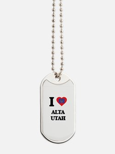 I love Alta Utah Dog Tags