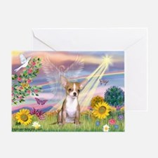 Cloud Angel & Chihuahua (1) Greeting Card