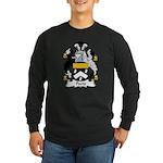 Peers Family Crest Long Sleeve Dark T-Shirt