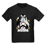 Pedigrew Family Crest Kids Dark T-Shirt