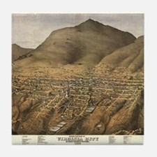 Antique Maps USA - Virginia C Tile Coaster