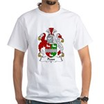 Pease Family Crest White T-Shirt