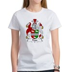 Pease Family Crest Women's T-Shirt