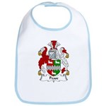 Pease Family Crest Bib
